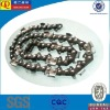 Saw chain for sawing wood machines