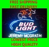 budlight jeremy mcgrath motor sports beer Neon Sign