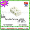 Porcelain Terminal Block LH3038 30A 28*51*22MM! car battery terminal