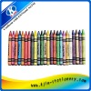 6pcs wax oil crayons in paper color box,wax crayon making