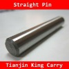 #45 Steel Straight Pin with Heat treatment from China Supplier