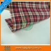 Red and Black Checks Designs Yarn Dyed Fabric