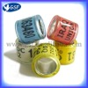 colorful customized Plastic Homeing pigeon ring pigeon band