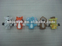 animal shaped vinyl toys