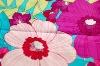 flower cotton spandex sateen fabric