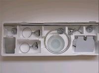 zinc bathroom sets 6pcs