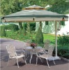 large square courtyard umbrella