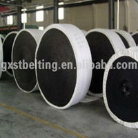 high tensile strength polyester rubber conveyor belt factory