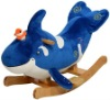 plush whale animal rocker for kids