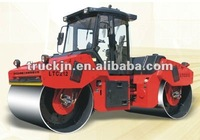 6ton double drum vibratory roller steel-wheeled vibratory roller