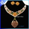 2012 New design african gold plating jewelry set