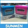 2012 Good sound Mini Audio aluminium Player /Speaker with USB