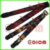 Cool Guitar strap with leather ends - GB-12001
