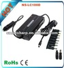 100W DC USB universal laptop travel charger car series with usb port