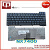 Hot Sale Laptop Keyboard for NX7400 US Version Black Notebook Keyboard Whoelsale