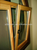 Aluminum Wood Tilt Turn Window