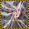 Polyester woven cherry printed silk chiffon fabric
