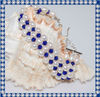 Very Nice Blue Crystal Pearl Bracelet BCM186