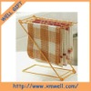 2012 NEW DESIGN metal foldable towel rack