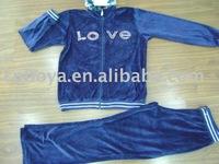 Lady's Velvet Suit