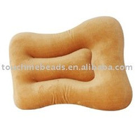 beads filling square shape pillow