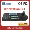 3-D joystick CCTV controller
