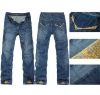 2012 newest OEM jeans high waist for men---wholesale jeans