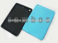 Smooth protective cover silicone back case for iPad mini