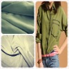Rayon Polyester Blend Shirt Fabric For Ladies