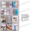 Magazine and Brochure Holder for Counter Top Displays