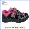 black mountain climbing shoes with velcros