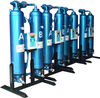 Absorbent compressed air dryer