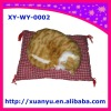 promotional artificial toys,snoring cat toys