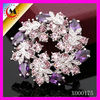 2012 FLOWER BROOCH WHOLESALE WITH COLORFUL ZIRCON AND DIAMONDS FOR CORSAGE WHOLESALE