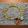 precious diamond crystal stone bracelet /bangle