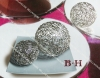 BH071101S-BH071101M-BH071101L metal decorative ball in electroplate covering