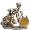 Resin Statue Clock