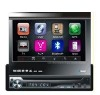 wholesale 7 inch Car DVD w/ Touchscreen +Detachable panel+ Bluetooth RDS +IPOD control + GPS built-in