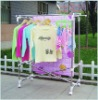 Folding drying rack-quilt rack