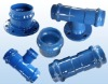 ductile iron fittings to suit metric pvc pipe