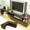 Living room TV cabinet set
