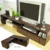 Living room TV cabinet set