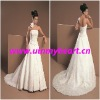 Fashion cheap beige bridal gowns W111