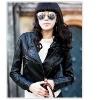 Fashion Ladies' Elegant Quality Leather Jacket F18