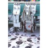 Coiling mixed embroidery  machine