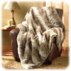 synthetic fur blanket/high grade blanket/artificial fur blanket