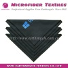 silk logo printed microfiber cleaning cloth for computer /laptop screen , eyewear lens cloth , camera wipers