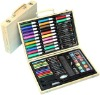 86pcs stationery set TBW026 with wooden carrying box