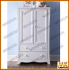 solid wood white chest with drawer