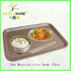 new material rice husk fiber serving tray
